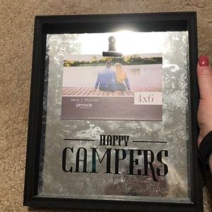 Happy Campers 8x10 Decor Frame for 4x6 Picture